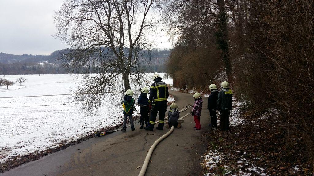 Chlausweekend 2017 Wölfe Feuerwehrmann
